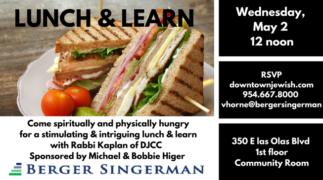 Lunch & Learn (3) may 2